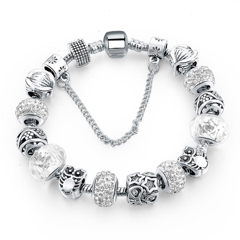 Brtara Charm Silver - Love Murano