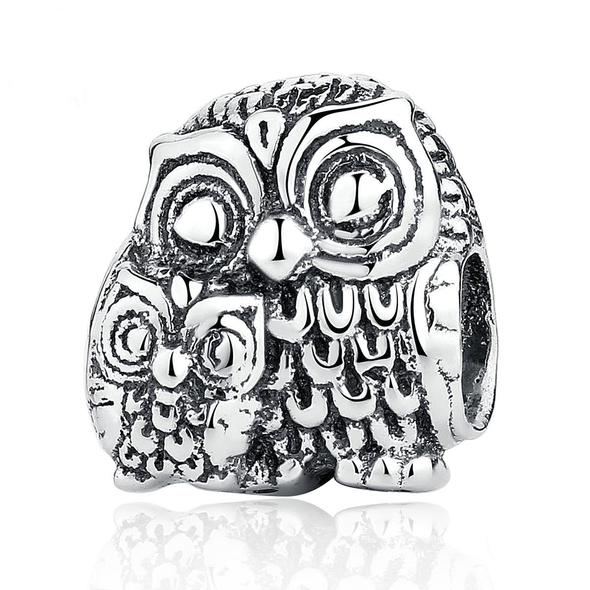 Charm din Argint OWL