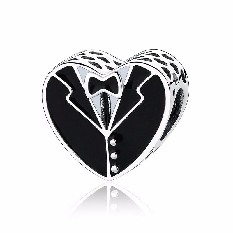 Charm din argint 925 Black & White