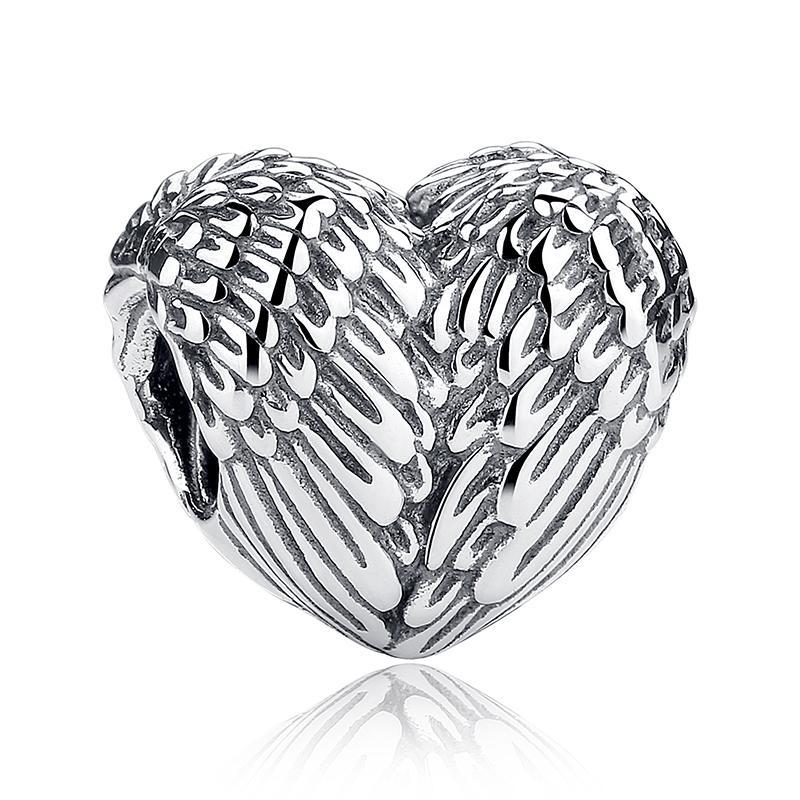 Charm din argint 925 Vintage Love Heart