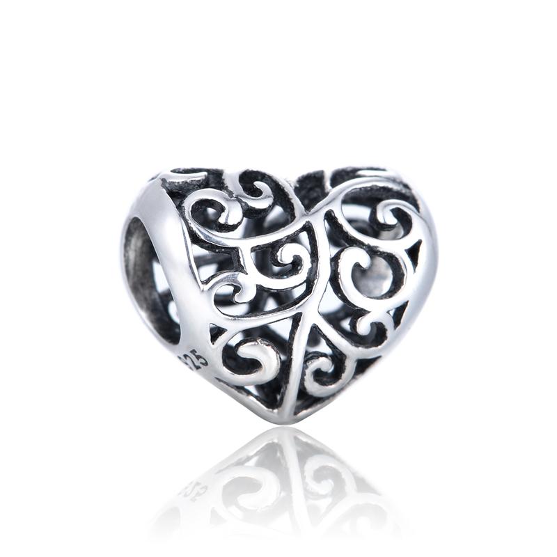 Charm-uri din argint 925 - Heart