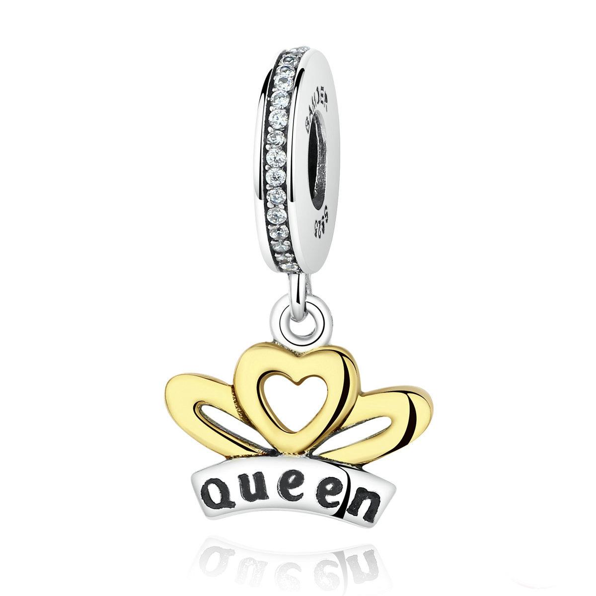 Charm din argint 925 - Queen