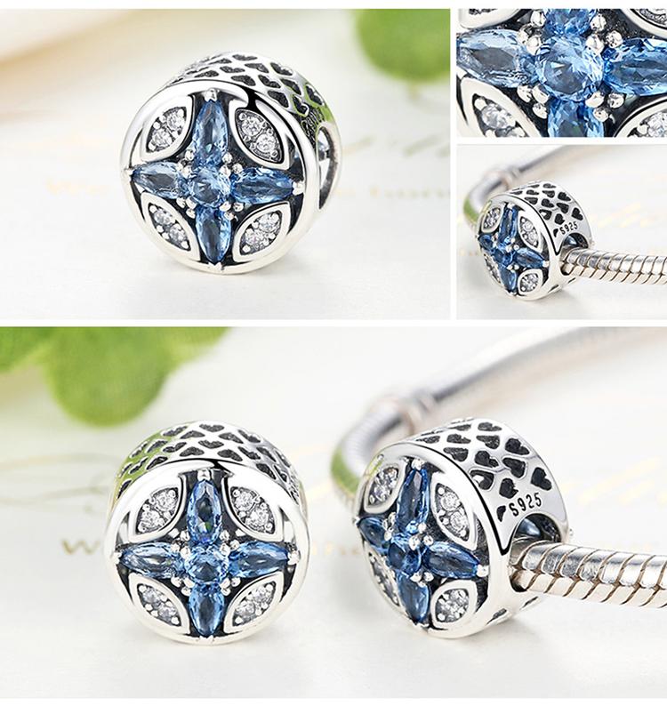 Charm din argint 925 - Blue