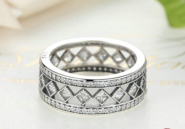 Inel din argint Vintage Luxury